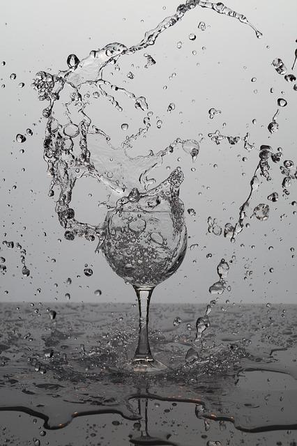 De l'eau pour jeûner